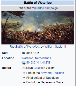 Where is waterloo situated?