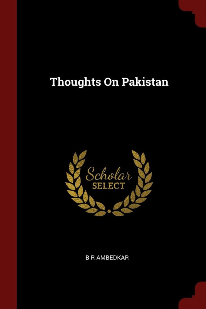 Thoughts on Pakistan is written by
