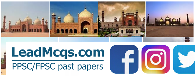 Badshahi mosque is in Lahore built by Aurangzeb