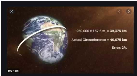 circumference of the Earth at the Equator