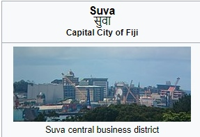 capital of Fiji