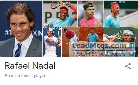Rafael Nadal player