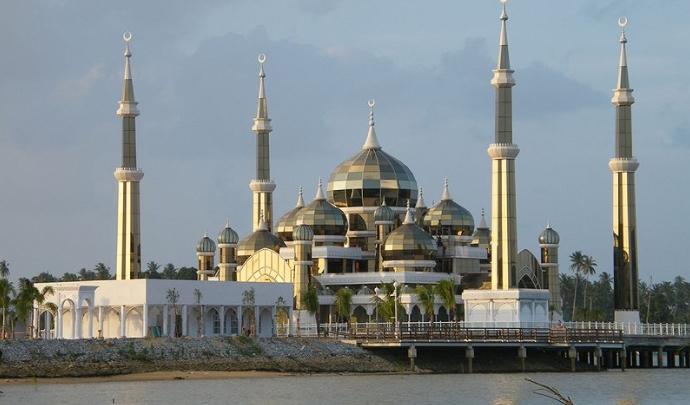 Crystal Mosque Wann Man, Terengganu, Malaysia